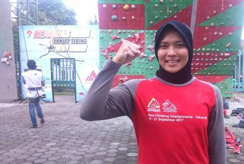 Awal Keisengan Aries Susanti Rahayu, 'Si Laba-laba' Andalan Panjat Tebing Indonesia