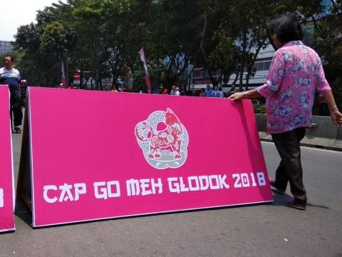 Pengalihan Arus Lalu Lintas Perayaan Cap Go Meh Glodok