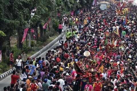 Kemeriahan Karnaval Cap Go Meh 2018 di Jakarta