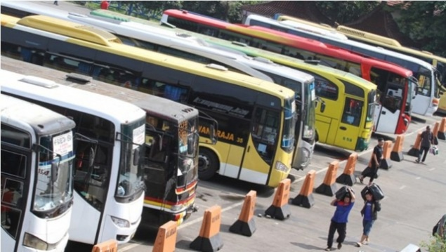 Ilustrasi: Bus AKAP. Foto: Antara/Agung Rajasa.