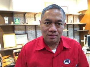 Presiden Direktur JNE M. Feriadi. (Foto: Medcom.id/Husen