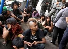 Dinsos Singkawan Tertibkan Anak 'Punk' Jalanan
