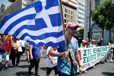 PDB Yunani Tumbuh 1,4% di 2017