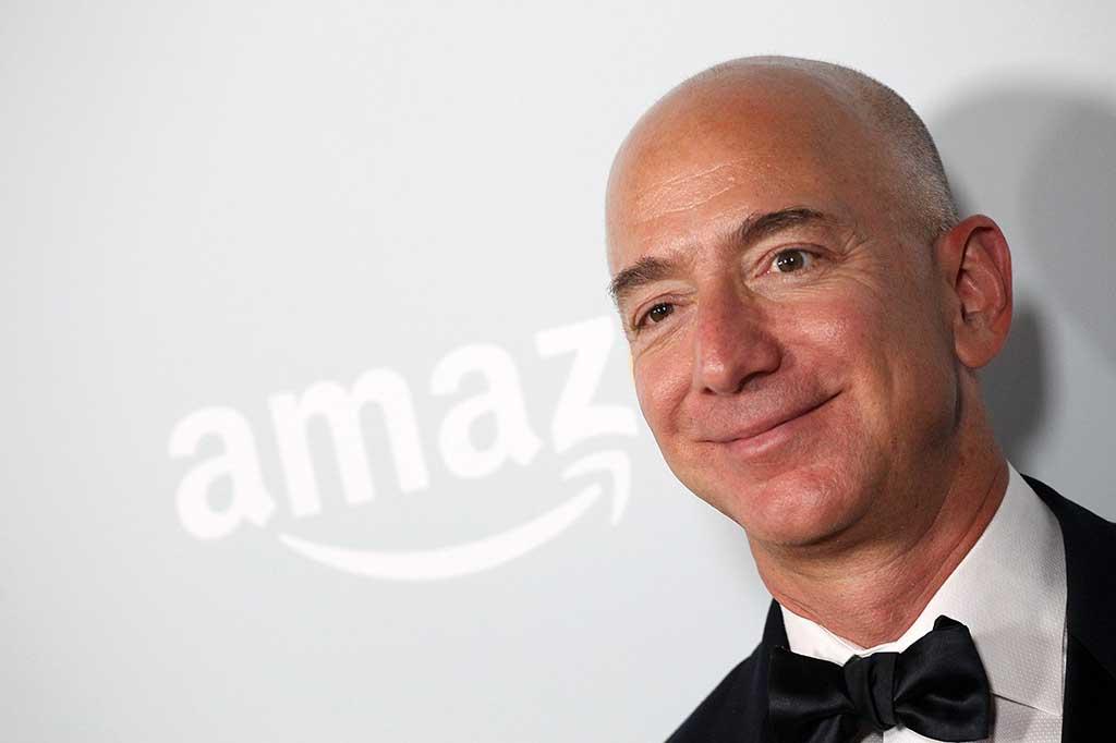 Bos Amazon Jadi Orang Terkaya di Dunia
