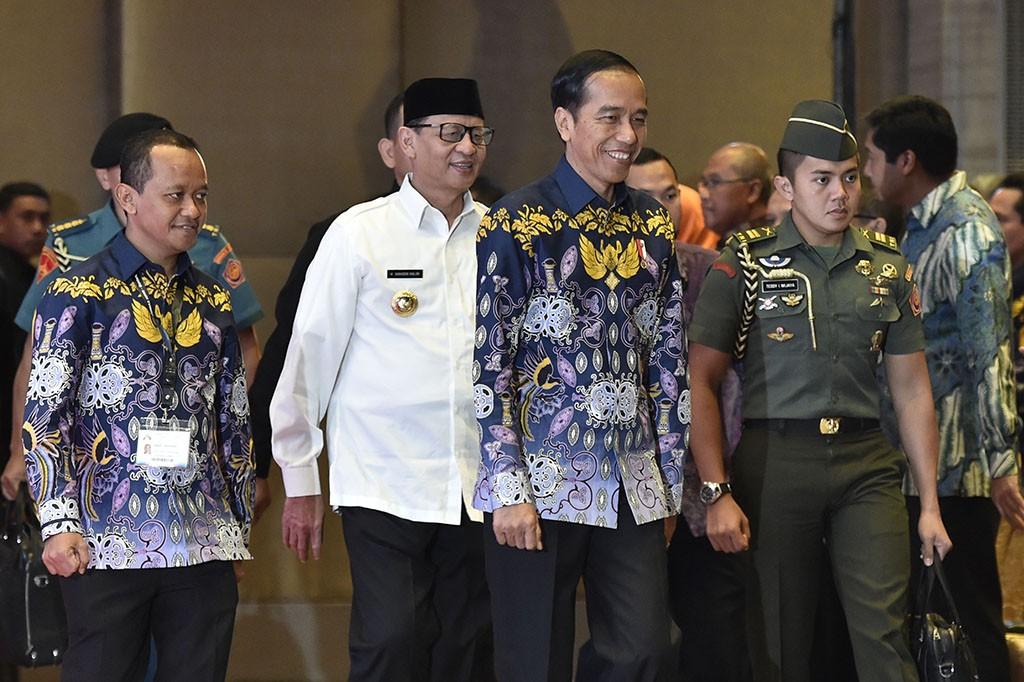Jokowi Undang Pengusaha Daerah Terlibat Proyek Infrastruktur