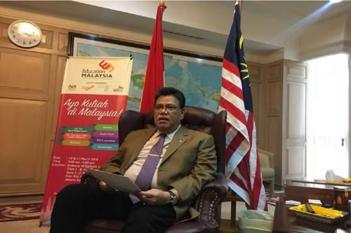 Duta Besar Malaysia untuk Indonesia Dato Sri Zahrain Mohamed