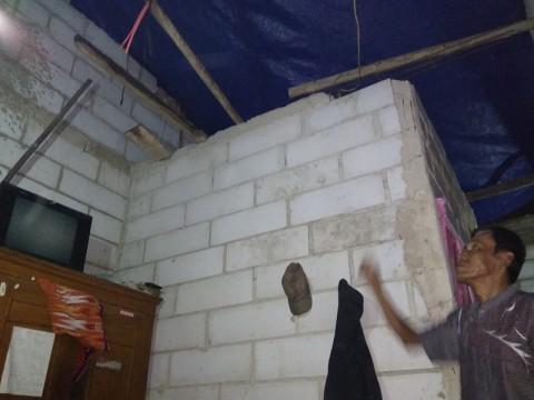 Rumah Rusak Akibat Puting Beliung di Bekasi Bertambah