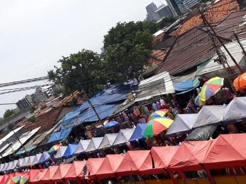 PKL Jatibaru tak Dipungut Biaya Sewa