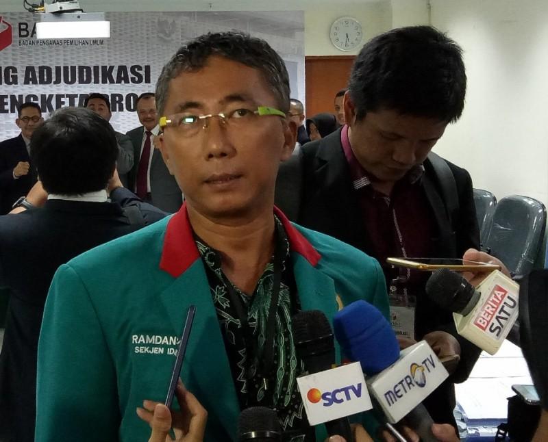 Sekretaris Jenderal Partai Idaman Ramdansyah - Medcom.id/Siti Yona.