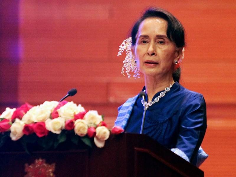 Penghargaan untuk Aung San Suu Kyi dicabut. (Foto: AFP).