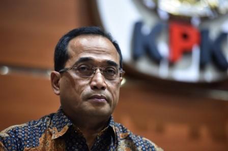 Menhub Budi Karya Sumadi ANT/Wahyu Putro.