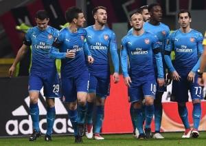 Arsenal Perkasa di Markas Milan