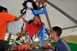 Penjual Ogoh-ogoh di Bali Marak Jelang Nyepi