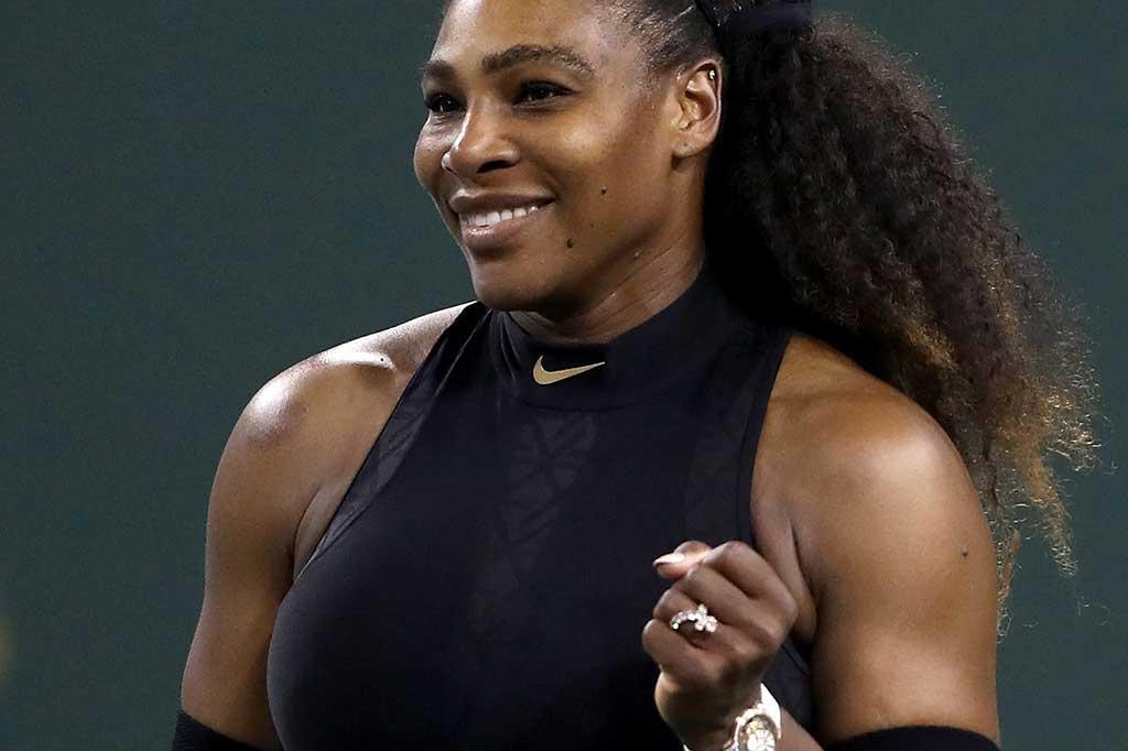Serena Williams Lewati Rintangan Pertama di BNP Paribas