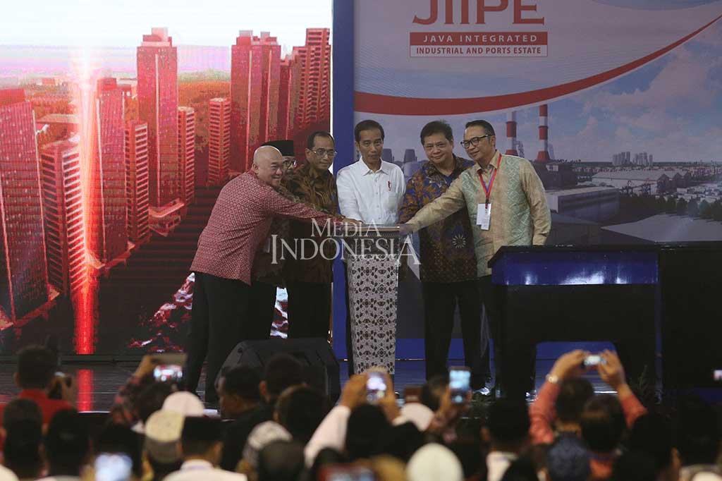 Presiden Resmikan Kawasan Industri JIIPE