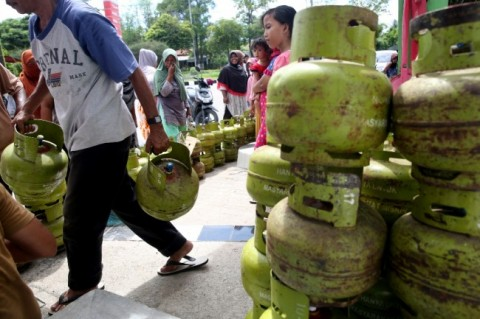 Polisi Bongkar Praktik Gas Oplosan di Tanjungbalai