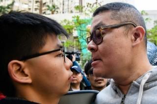 Scuffles in Hong Kong at Key Vote for Democrats