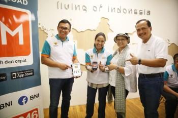 BNI Luncurkan Aplikasi Mobile Remittance Termurah di Singapura