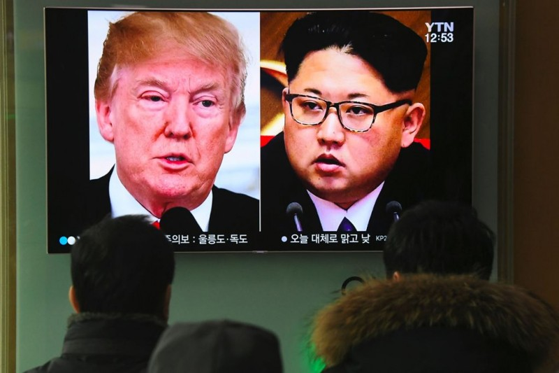 Pertemuan Kim Jong-un dengan Donald Trump akan digelar Mei tahun ini. (Foto: AFP)