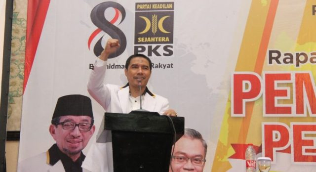 Ketua Umum DPW PKS Jakarta Sakhir Purnomo
