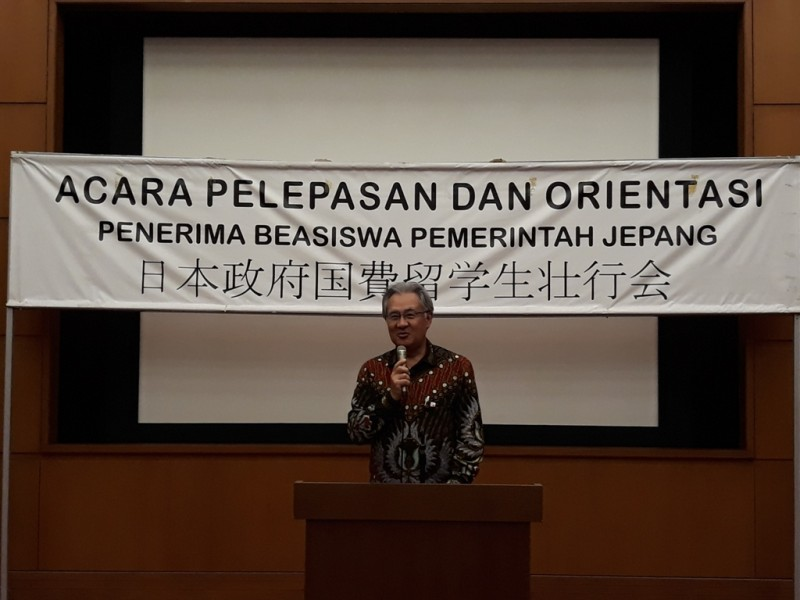 Duta Besar Jepang untuk Indonesia Masafumi Ishii (Foto: Marcheilla Ariesta).