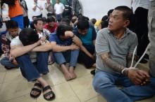 Polisi Ringkus 87 Penjudi di Sawah Besar