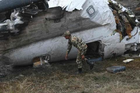 Korban Tewas Pesawat Bangladesh jadi 49 Orang