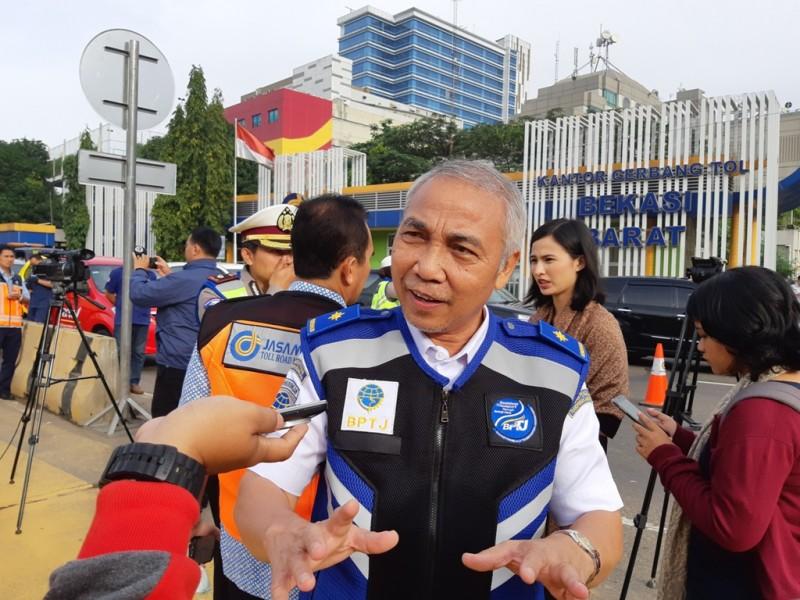 Direktur Lalu Lintas dan Angkutan Badan Pengelola Transportasi Jakarta (BPTJ), Karlo Manik--Medcom.id/Dhaifurrakhman Abas.