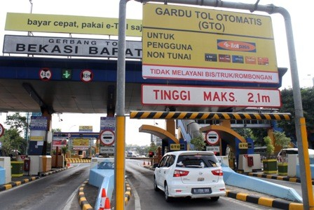 Ilustrasi GT Bekasi Barat/ANT/Risky Andrianto