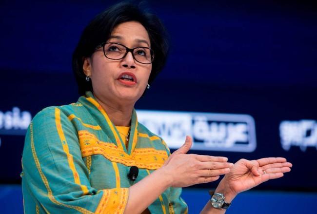 Menteri Keuangan Sri Mulyani. (Dok : AFP).