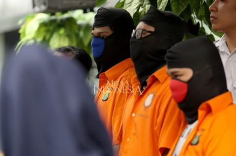 Retas 600 Situs, Komplotan Hacker di Surabaya Ditangkap