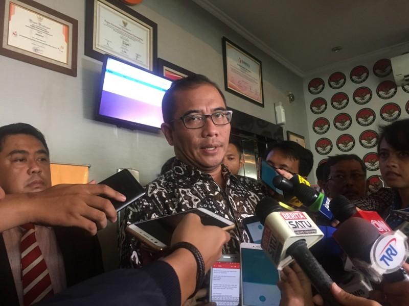 Komisioner KPU Hasyim Asyari - Medcom.id/Intan Yunelia