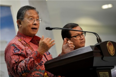 Coordinating Minister for Economic Affairs Darmin Nasution