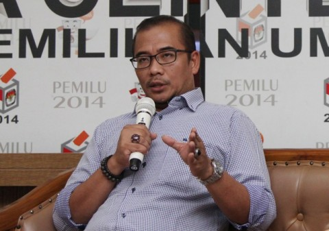 Komisioner Komisi Pemilihan Umum Hasyim Asyari. Foto: