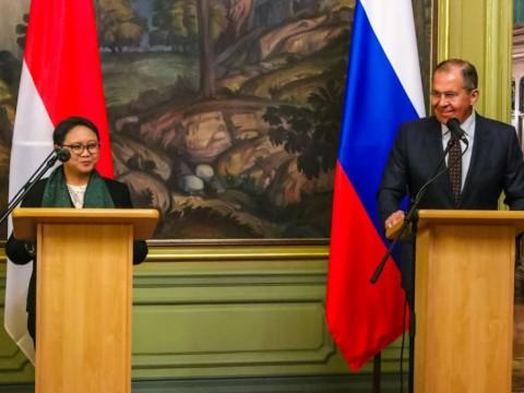 Rusia-Indonesia Sepakat Solusi Dua Negara untuk Palestina