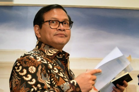 Sekretaris Kabinet Pramono Anung -- Antara/ Yudhi Mahatma