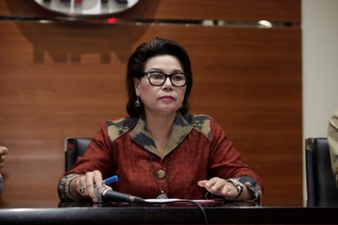 Wakil Ketua KPK Basaria Panjaitan di Gedung KPK, Jakarta, Selasa