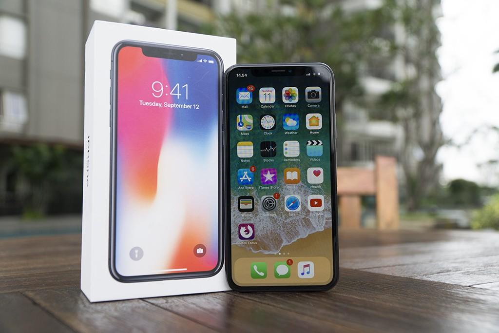iPhone X adalah ponsel paling premium dari Apple. (Medcom.id)