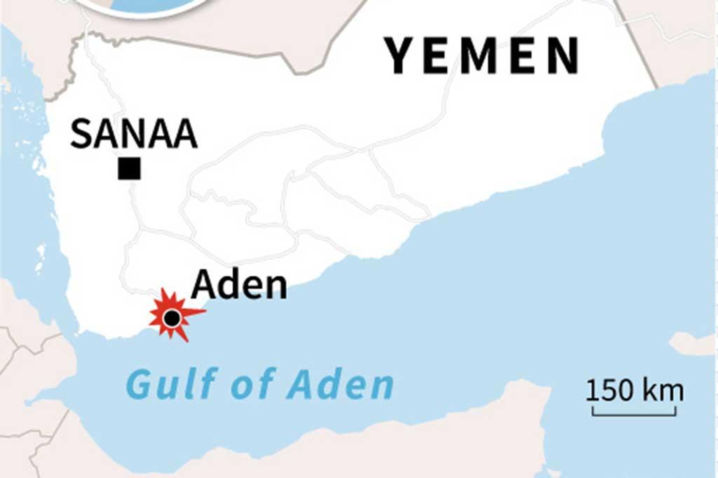 Enam Orang Tewas akibat Bom di Aden