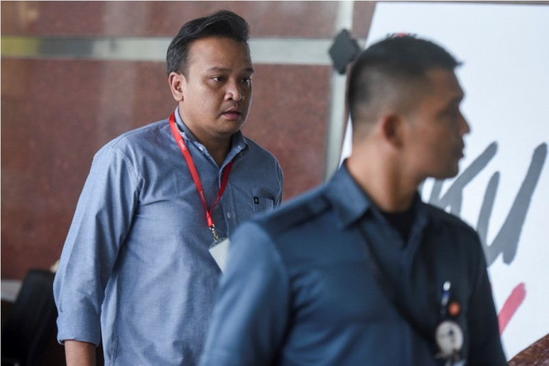 Keponakan Novanto, Irvanto Hendra Pambudi Cahyo - ANT/Hafidz Mubarak A.