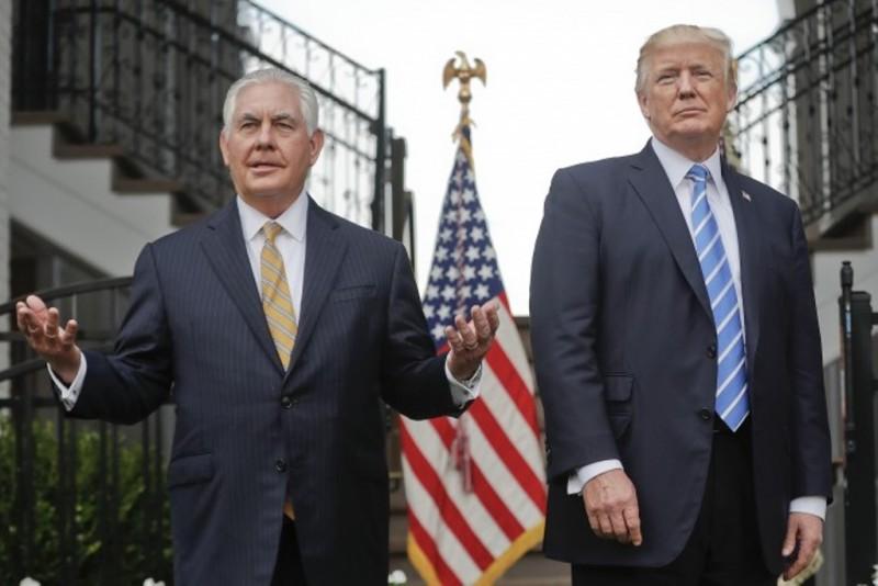 Rex Tillerson dipecat dari jabatan Menlu AS oleh Presiden Donald Trump (Foto: AFP).
