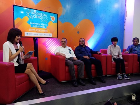 ISE 2018 Wadah Publik Menikmati Sains