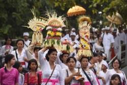 Melasti di Jember Diikuti Umat Hindu dari 12 Pura