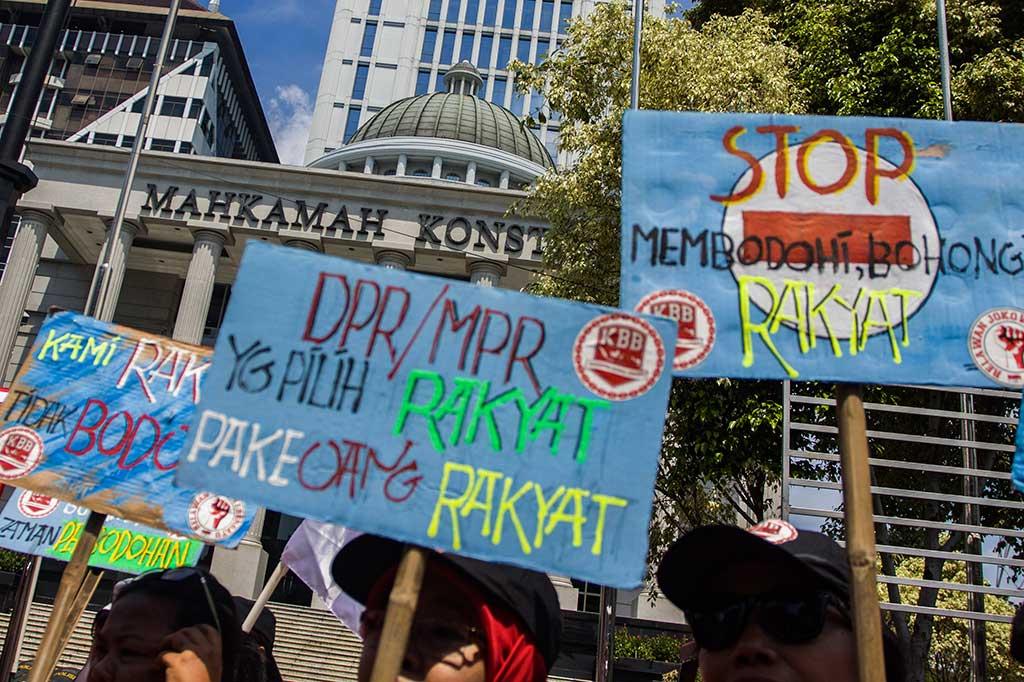 Presidium Rakyat Menggugat Tolak UU MD3