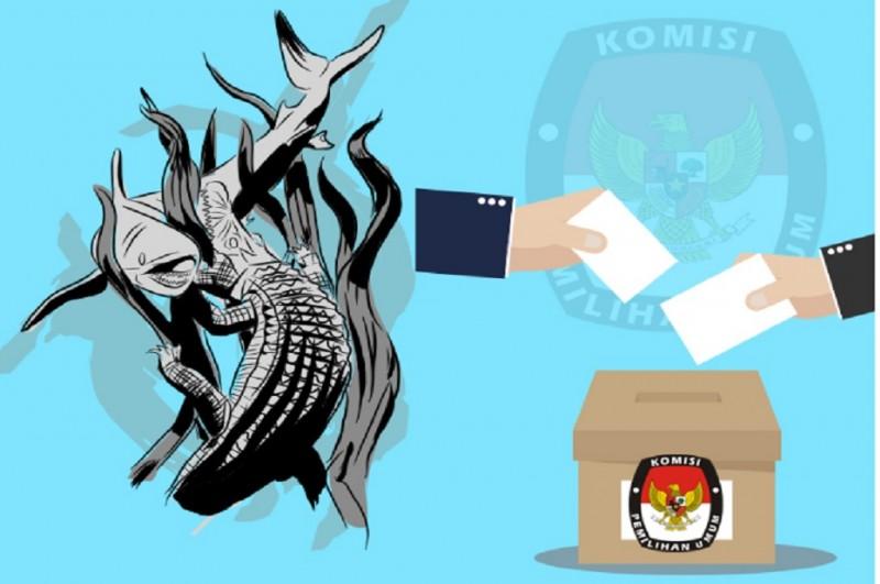 Ilustrasi Pilkada Jatim, Medcom.id - M Rizal