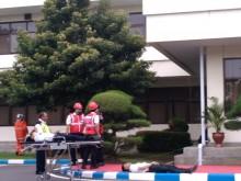 Bandara Juanda Gelar Simulasi Kecelakaan Pesawat