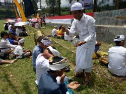 Ribuan Umat Hindu Malang Raya Ikuti Tawur Agung Kesanga