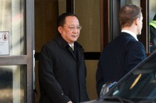 North Korea Foreign Minister Meets Swedish PM