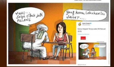<i>Tempo</i> Siap Selesaikan Masalah Karikatur di Dewan Pers