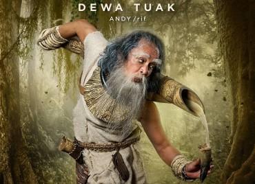 Perubahan Drastis Andy /rif sebagai Dewa Tuak di Film Wiro Sableng
